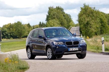 Mondial de l'Auto : BMW X3 sDrive18d