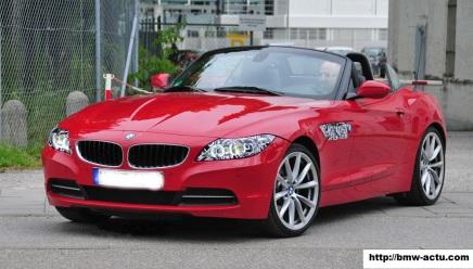 Le BMW Z4 devrait profiter d'un restylage à l'occasion du Mondial deParis