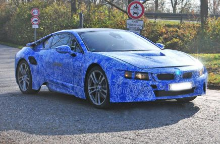 La future BMW i8 surprise en phase de test