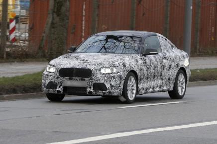 Les premières photos de la future BMW Série 2Coupé