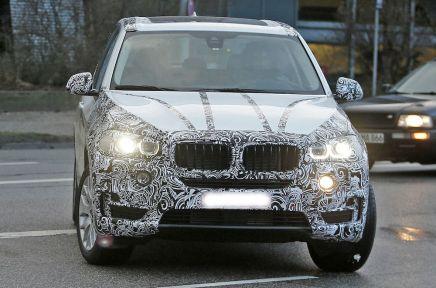 Le futur BMW X5 se déshabilleprogressivement