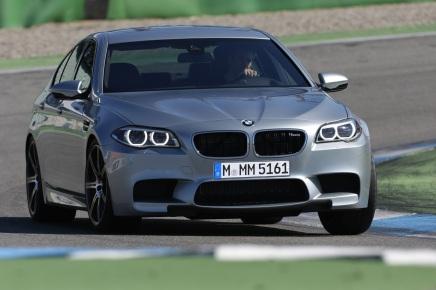 La BMW M5 restylée développe  maintenant jusqu'à 575chevaux