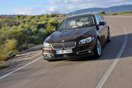 BMW SÉRIE 5 TOURING RESTYLÉE(VIDÉO)