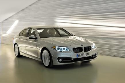 BMW SÉRIE 5 RESTYLÉE(VIDÉO)