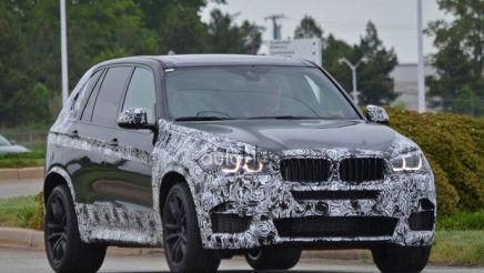 Le futur BMW X5 M surpris enbalade