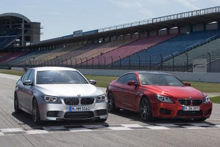 Les BMW M5 et M6 Pack Competition envidéo