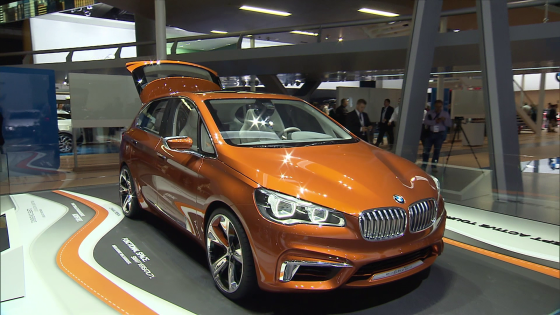 bmw active tourer concept francfort