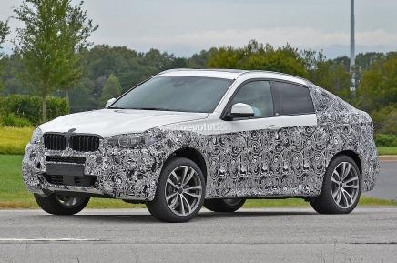 Le prochain BMW X6 surpris en phase detest