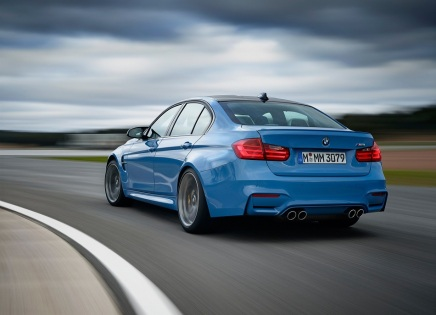 DÉBUT DE PRODUCTION DE LA BMW M3