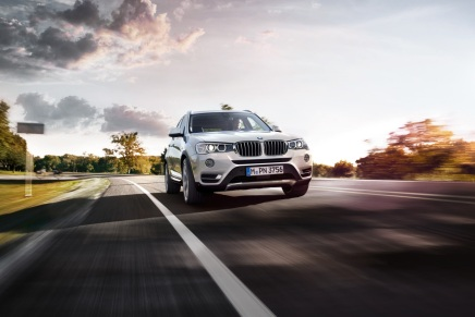 BMW présente son X3restylé