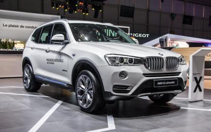 Genève 2014 : BMW X3restylé