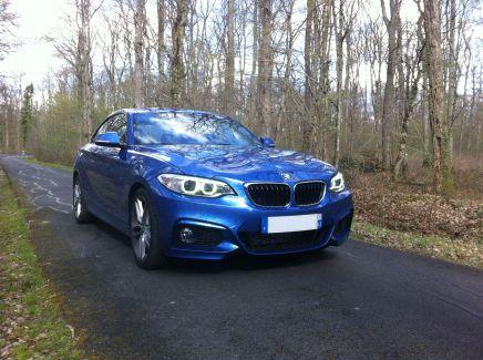 Essai BMW 220dCoupé