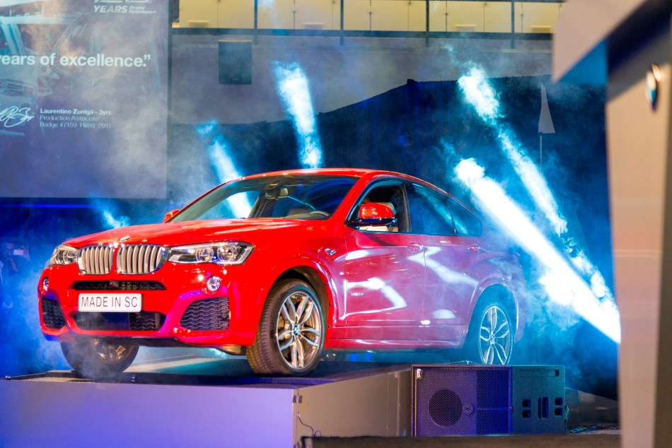 La production du BMW X4 débute