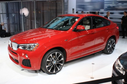 New York Auto Show 2014: BMW X4