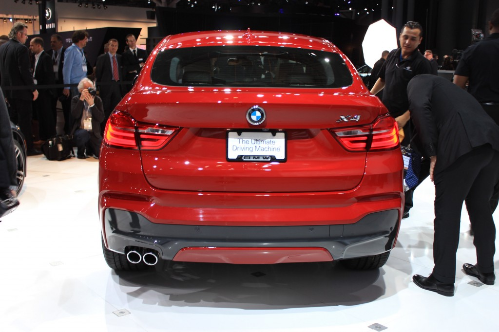 2014 NYIAS BMW X4