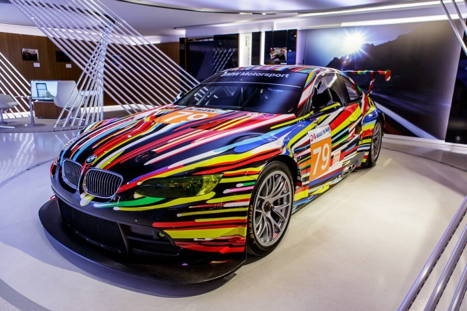 BMW expose quatre Art Cars à Paris