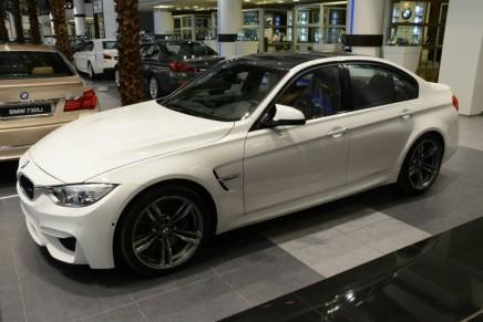 Début des livraisons de la BMWM3