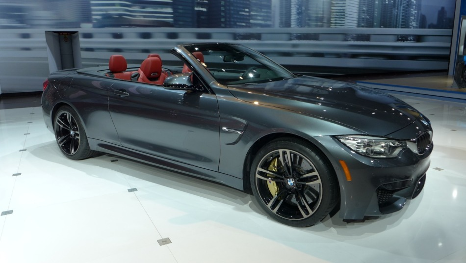 NEW YORK AUTO SHOW 2014: BMW M4 CABRIOLET