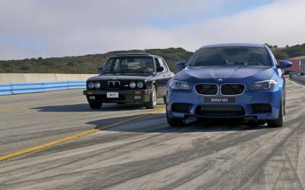 BMW célèbre les 30 ans de laM5