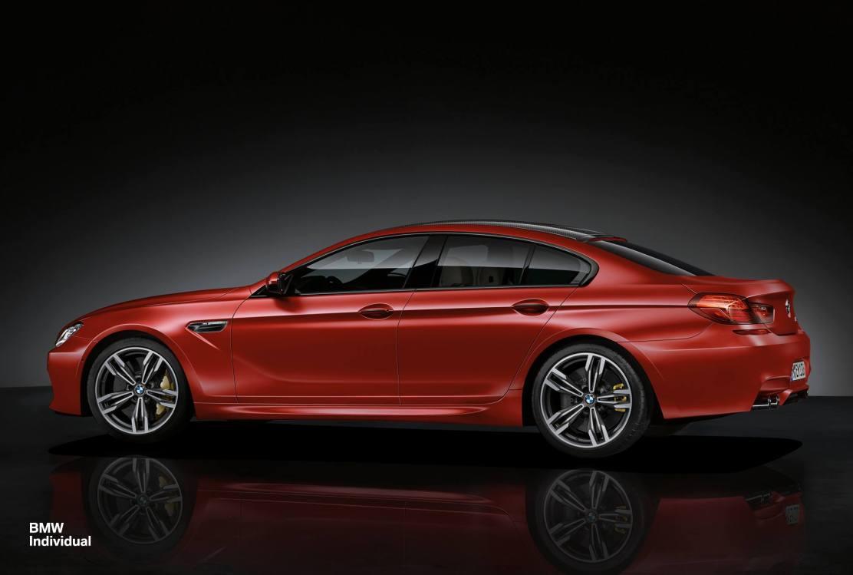 BMW M6 Gran Coupé Individual
