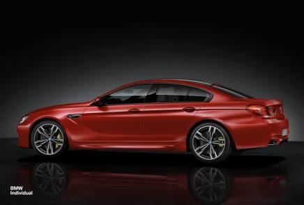 BMW présente une M6 Gran CoupéIndividual