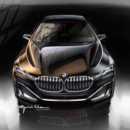 Les secrets du concept BMW Vision Future Luxury