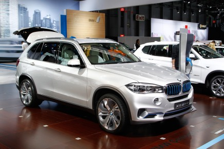 New York Auto Show 2014 : BMW X5 eDrive Concept