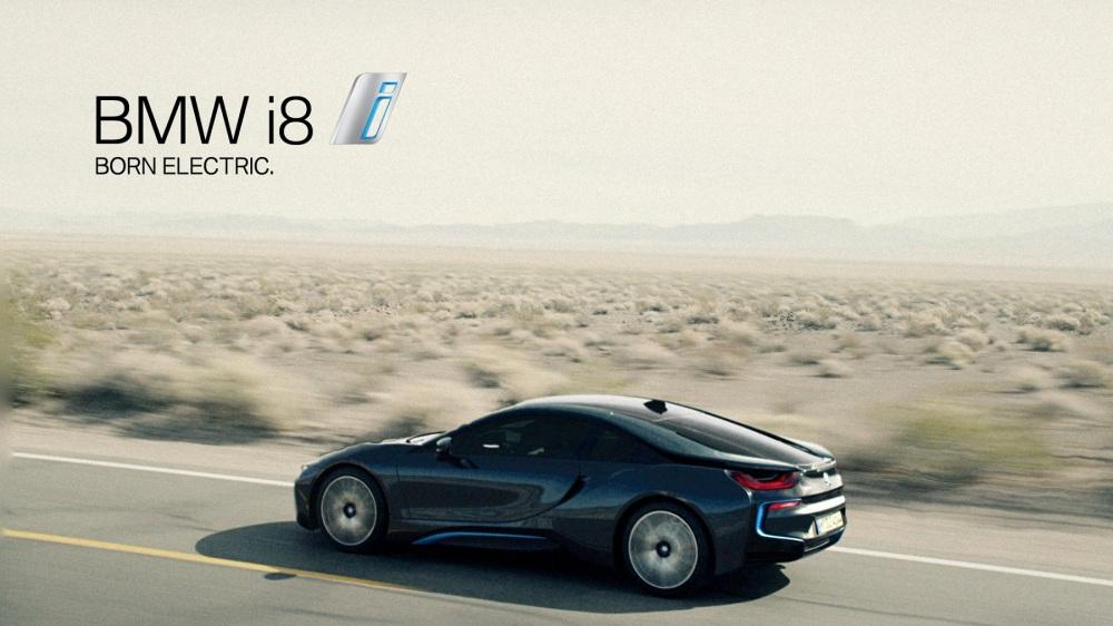 BMW i8 - 2015 Bmw-i8-campagne-promotionnelle-6