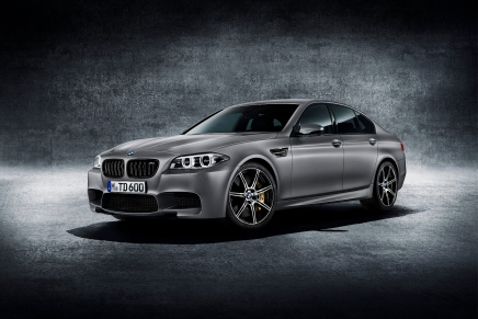 BMW dévoile officiellement la M5 30ième anniversaire de 600chevaux