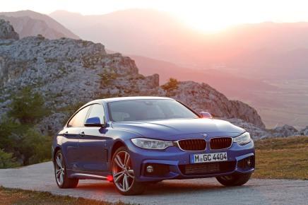 Le plein d'infos et de photos de la nouvelle BMW Série 4 GranCoupé