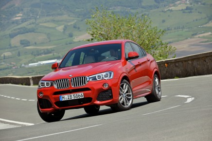 Le plein de photos du nouveau BMWX4