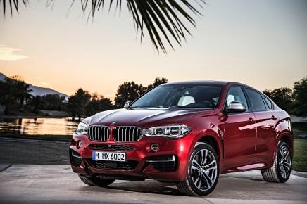 BMW dévoile officiellement la deuxième génération duX6