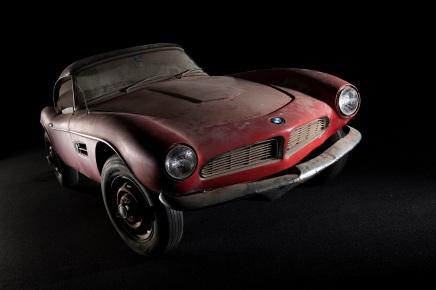 L'ancienne BMW 507 d'Elvis Presley s'expose àMunich