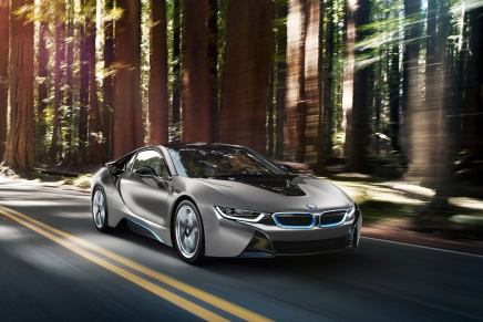 Un exemplaire unique de la BMW i8 en vente à Pebble Beach