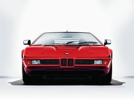 Une BMW M1 de 1980 en vente à 499900$