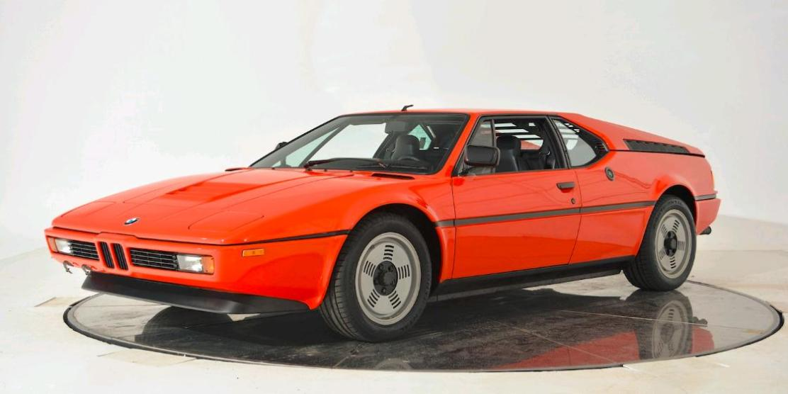 une bmw m1 de 1980 en vente 499 900 bmw. Black Bedroom Furniture Sets. Home Design Ideas