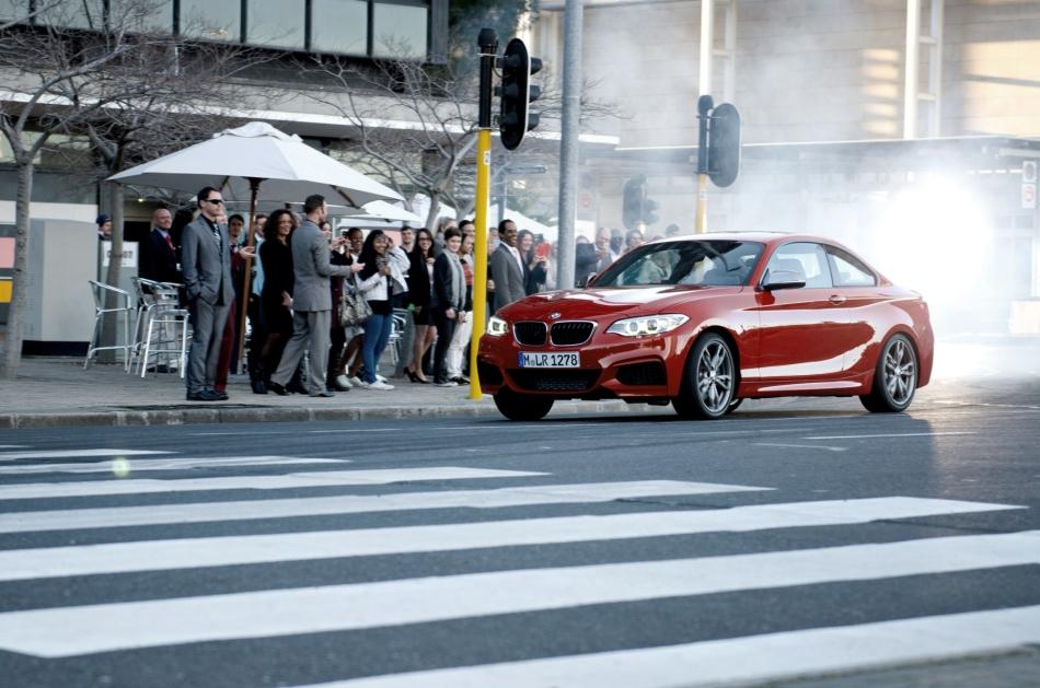 BMW réalise une vidéo de drift avec cinqM235i