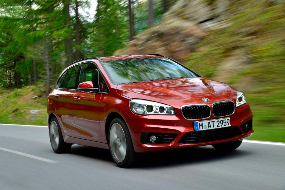 BMW compte acquérir de nouveaux clients avec la Série 2 ActiveTourer