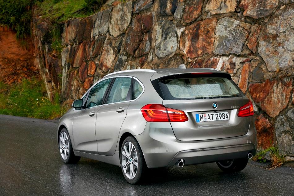 BMW exprime ses intentions avec la nouvelle Série 2 ActiveTourer