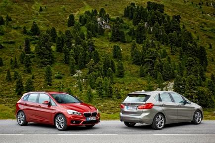 Le plein de photos de la BMW Série 2 ActiveTourer