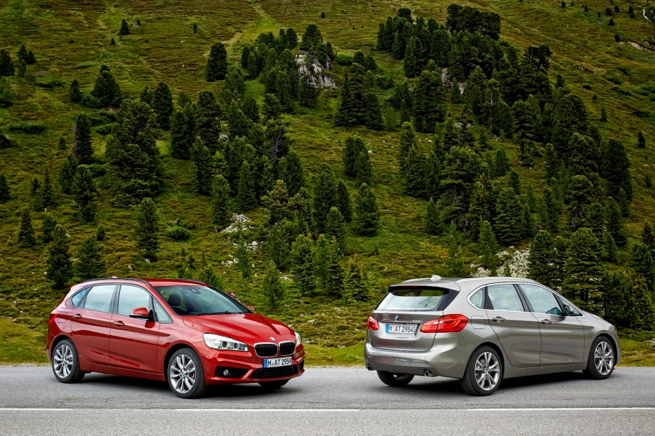 Le plein de photos de la BMW Série 2 Active Tourer