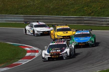 BMW victorieux en DTM ce weekend avec unquadruplé