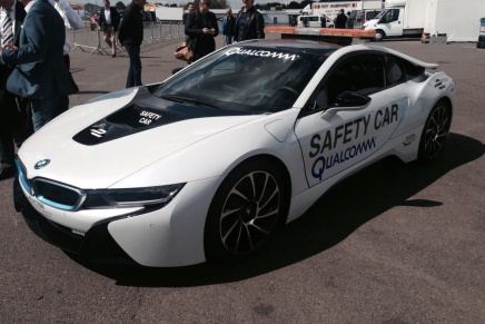 La FIA teste la BMW i8 comme Safety Car de Formule E