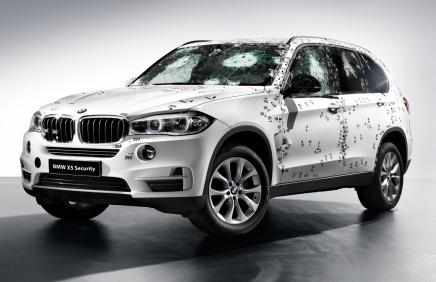 BMW présente le X5 SecurityPlus