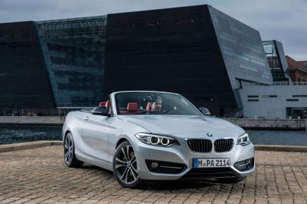 Galerie photos : BMW Série 2Cabriolet