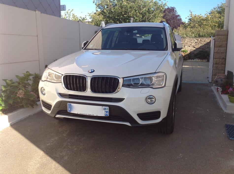Avis de propriétaire : BMW X3restylé