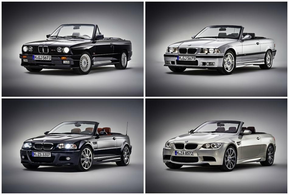 Retour sur la saga des BMW M3Cabriolet