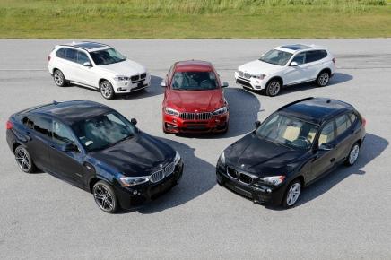 BMW célèbre les 15 ans de la familleX