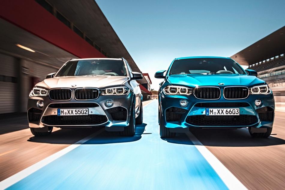BMW dévoile officiellement les nouveaux X5 M et X6M