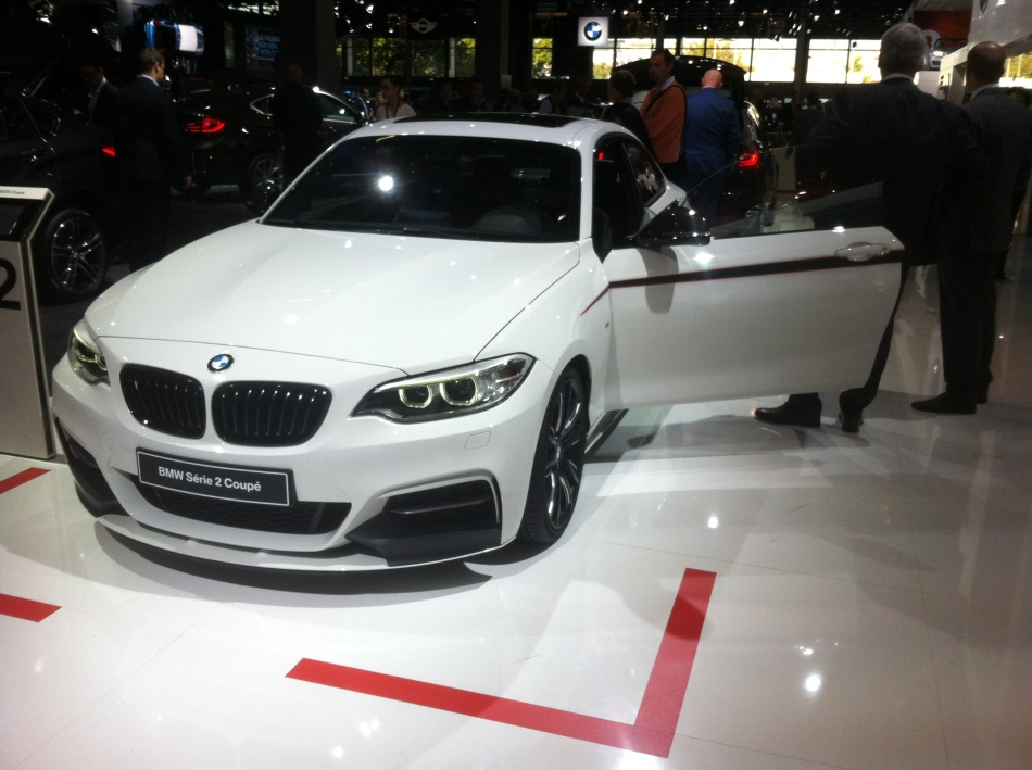 Mondial Auto 2014 : BMW M235i M Performance